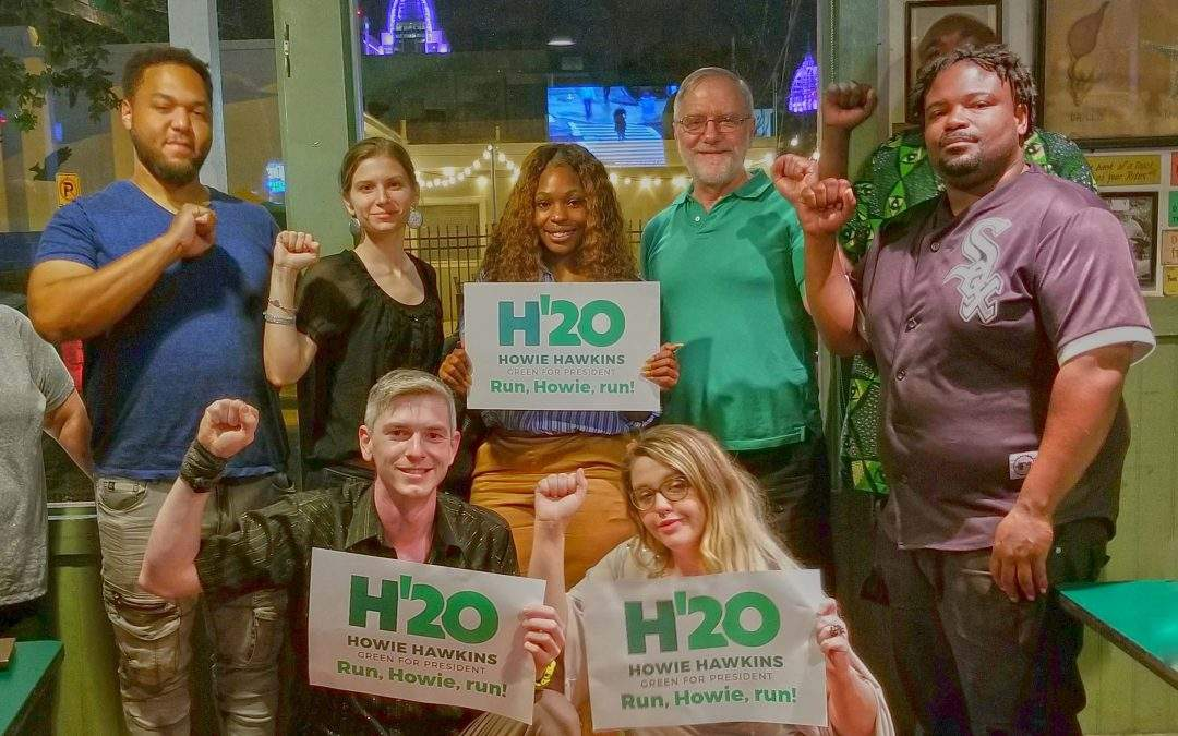 Bad week for Green Party, better one for Democrats –possibly